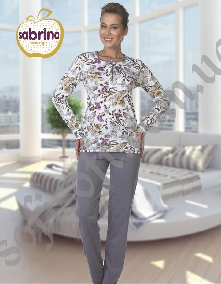 Пижама женская SAB.V42094 GRI