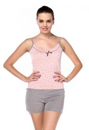 Пижама женская шорты Metin 8324