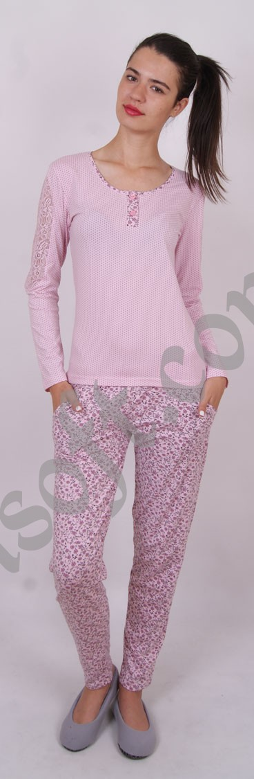 Пижама женская Nicoletta 86524
