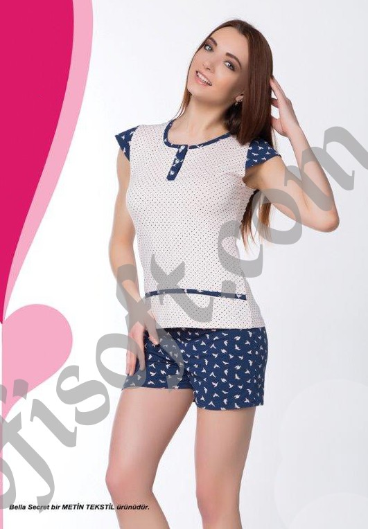 Пижама женская шорты Metin 8308