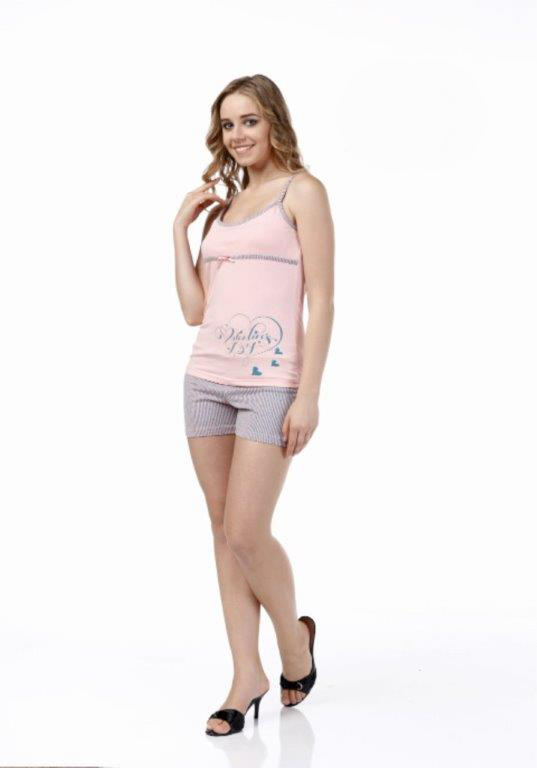 Пижама женская шорты Metin 8340