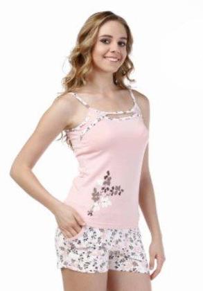 Пижама женская шорты Metin 8366