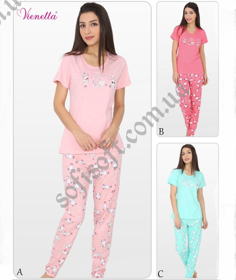 Пижама женская брюки 5090385161