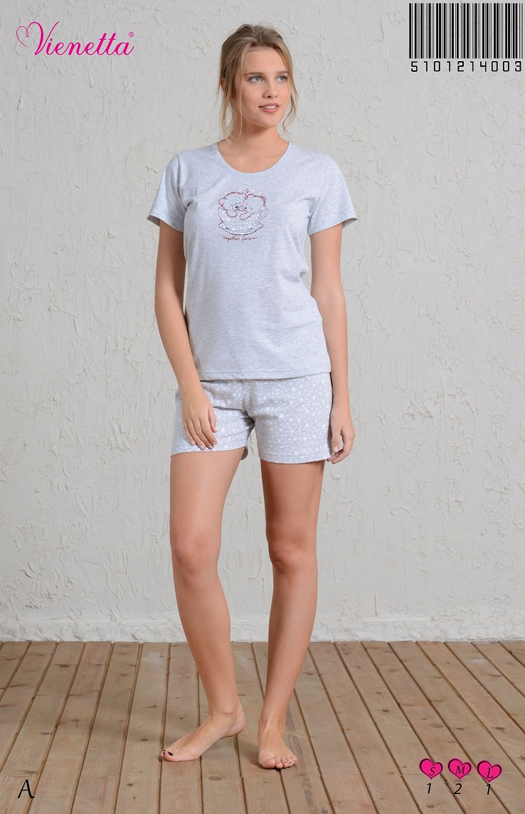 Пижама женская шорты 5101214003