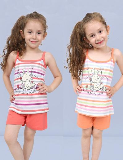 Пижама детская шорты 4082494753