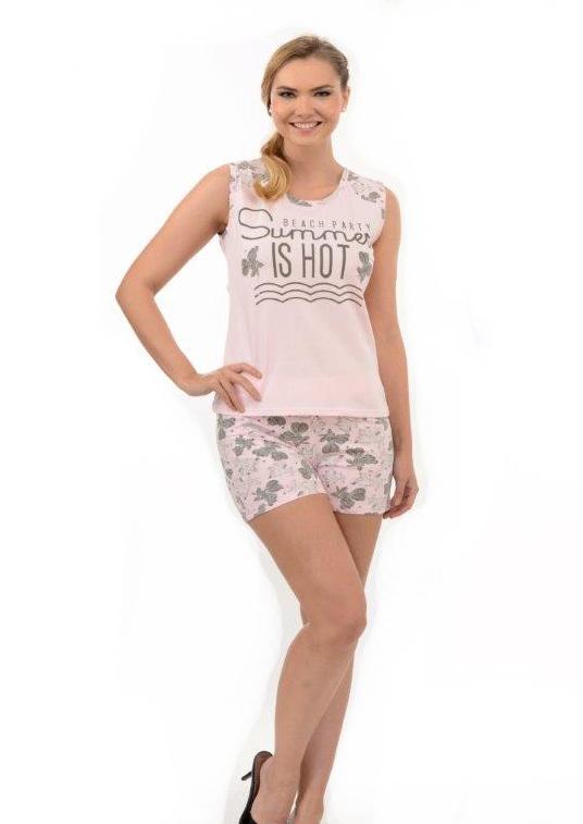 Пижама женская шорты Metin 9546