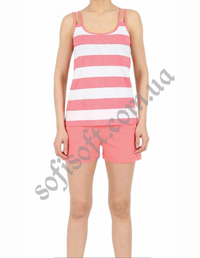 Пижама женская шорты 4081485040