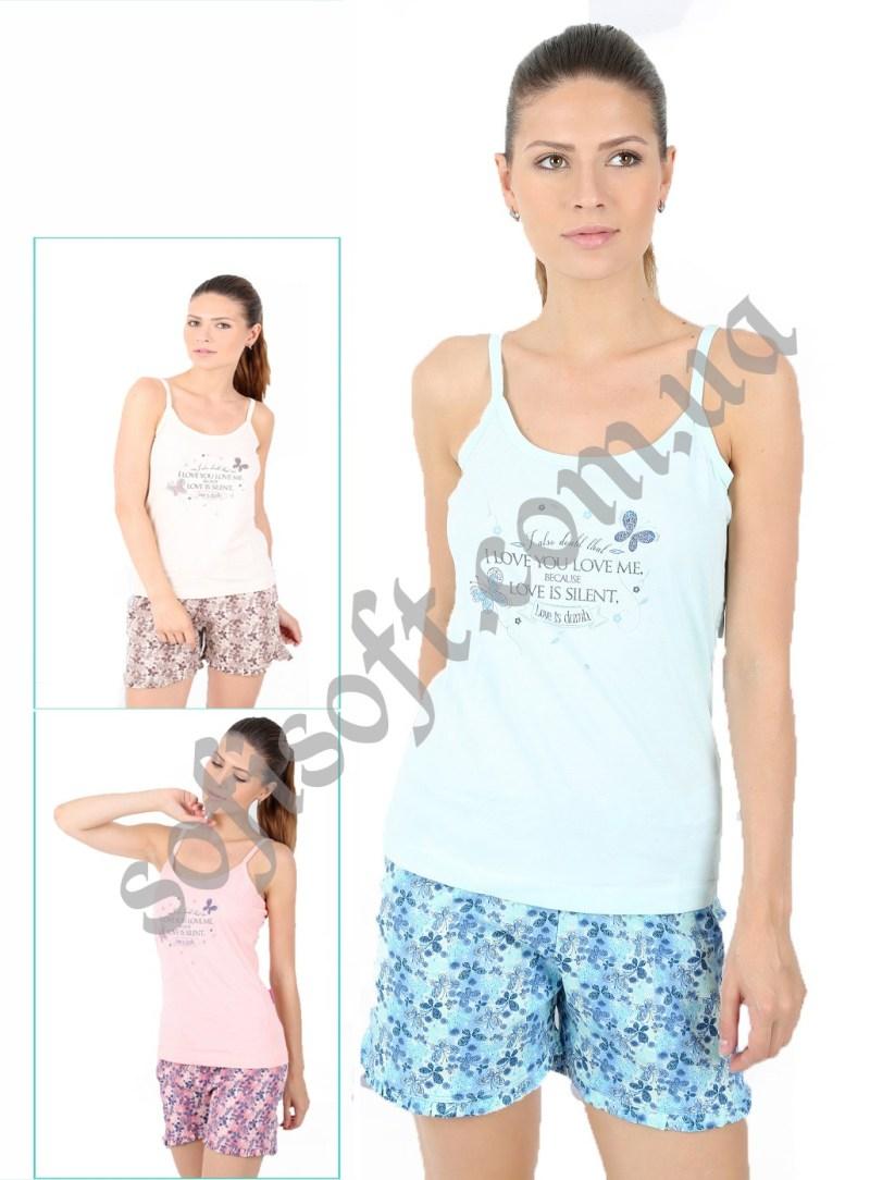 Пижама женская шорты 4082244704