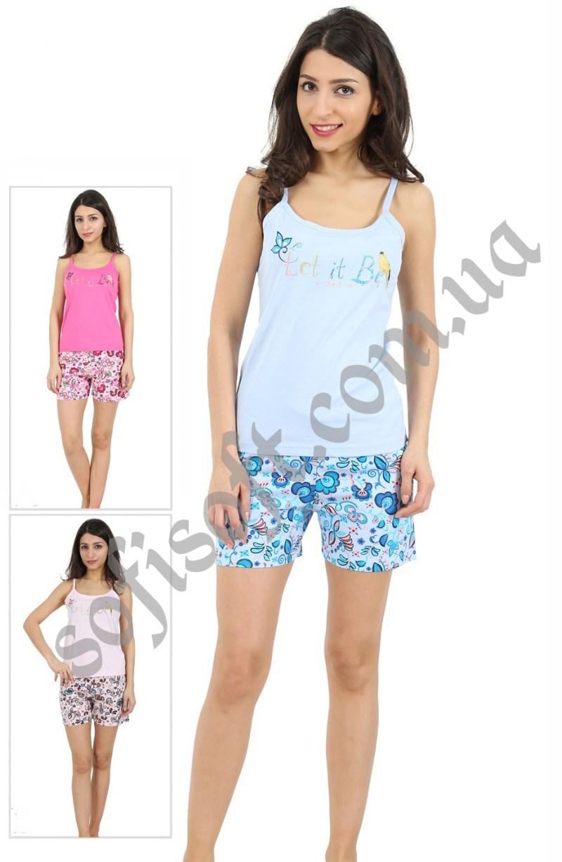 Пижама женская шорты 4100364001