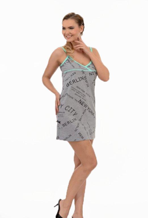 Ночная рубашка Metin 6542