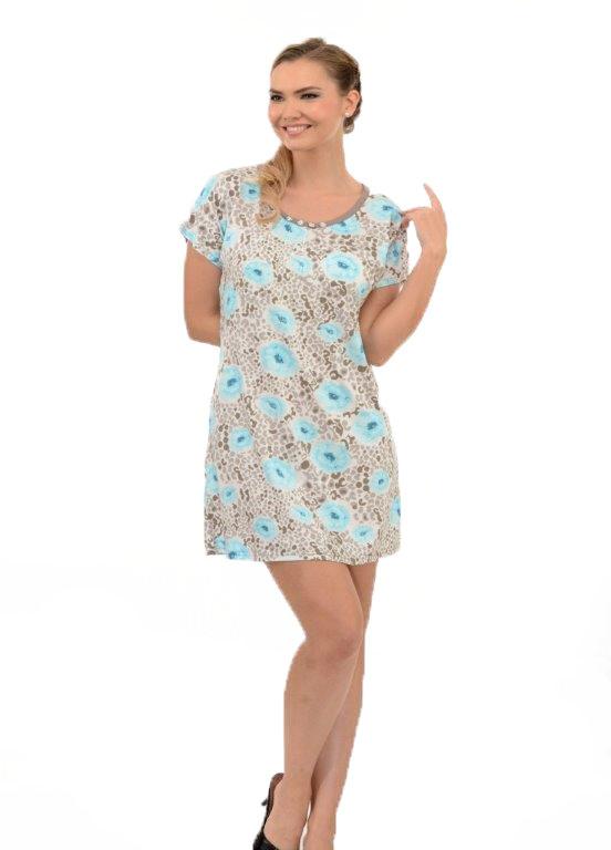 Ночная рубашка Metin 6558