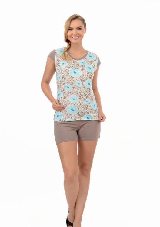 Пижама женская шорты Metin 8216
