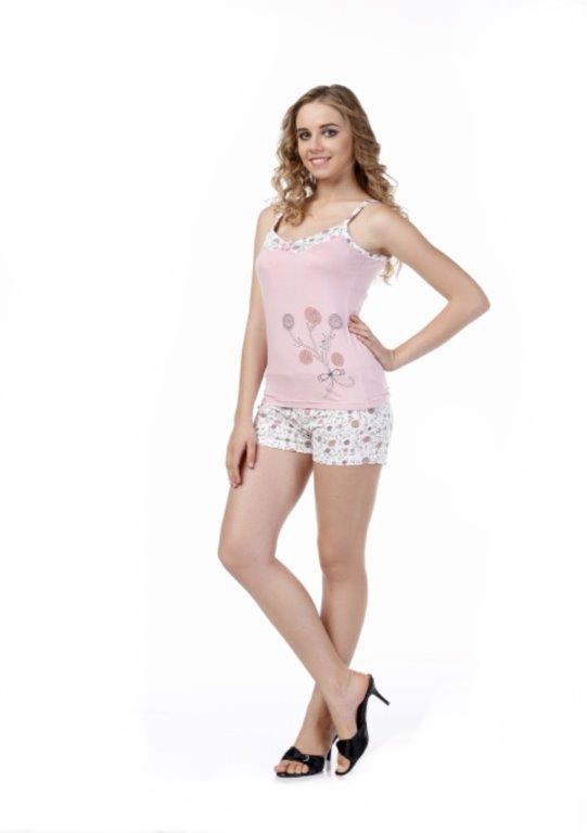 Пижама женская шорты Metin 8358