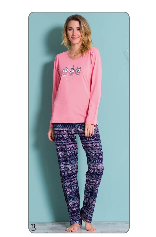 Пижама женская брюки 6040567503