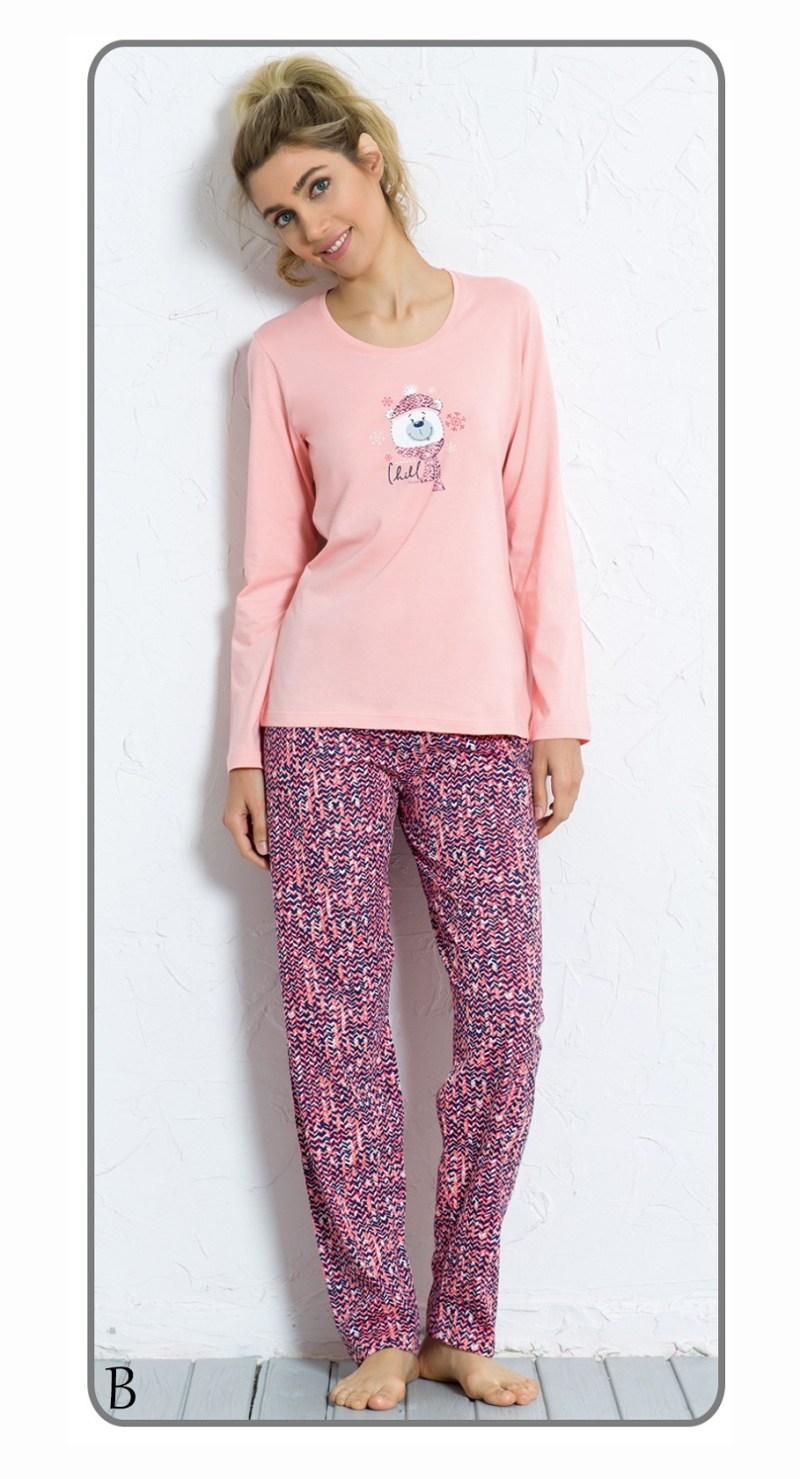 Пижама женская брюки 6040801545