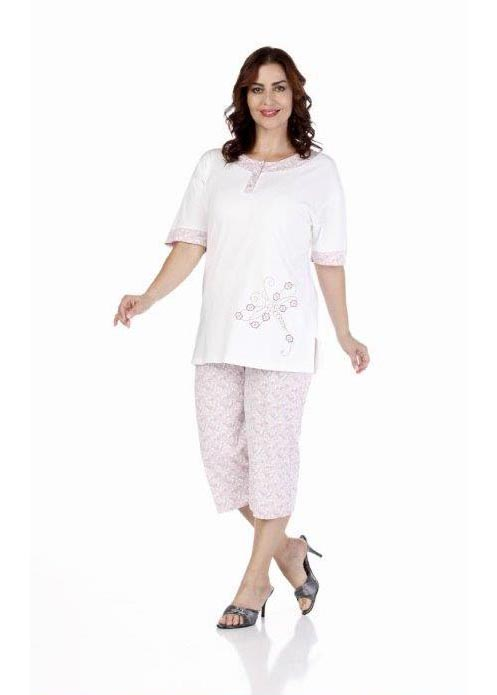Пижама женская капри Metin 9233