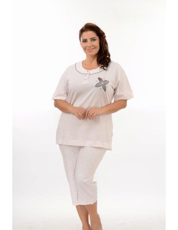 Пижама женская капри Metin 9883