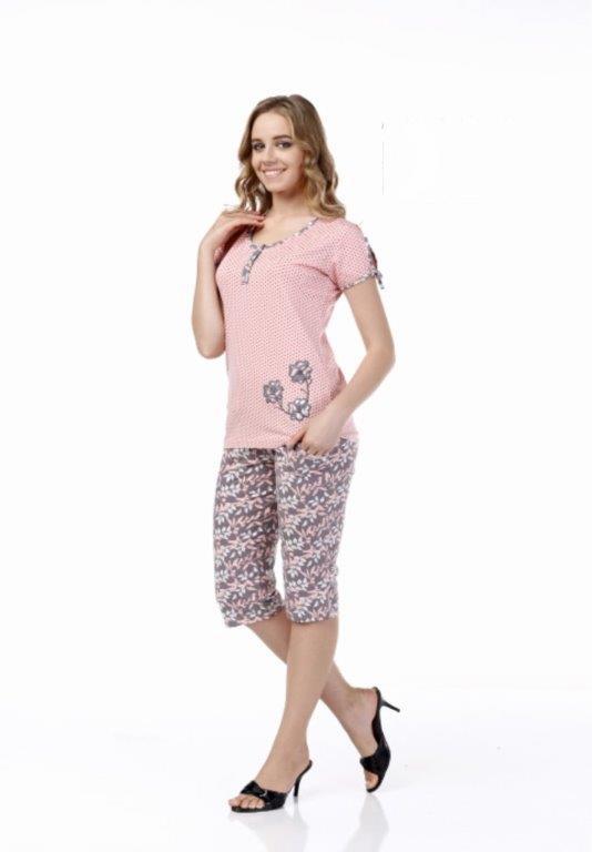 Пижама женская капри Metin 9984