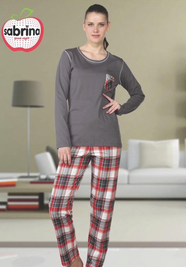 Пижама женская SAB.V 45073 GRI