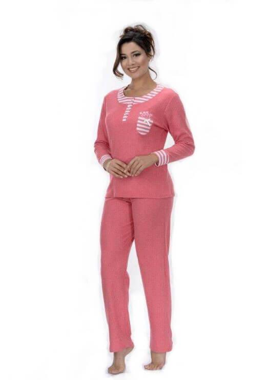 Пижама женская брюки Metin 5742