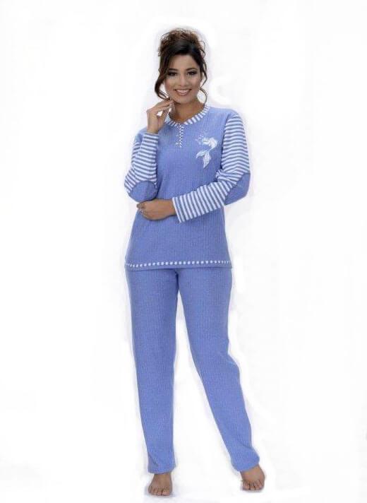 Пижама женская брюки Metin 5748