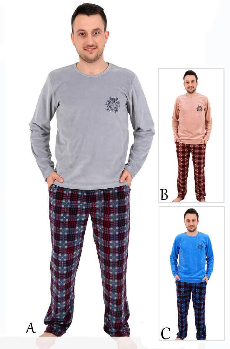 Пижама мужская велюр 4120374556