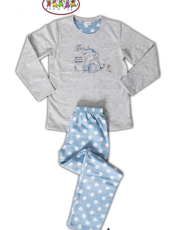Пижама детская байка 6090241618