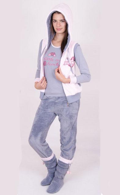 Пижама женская брюки 88078
