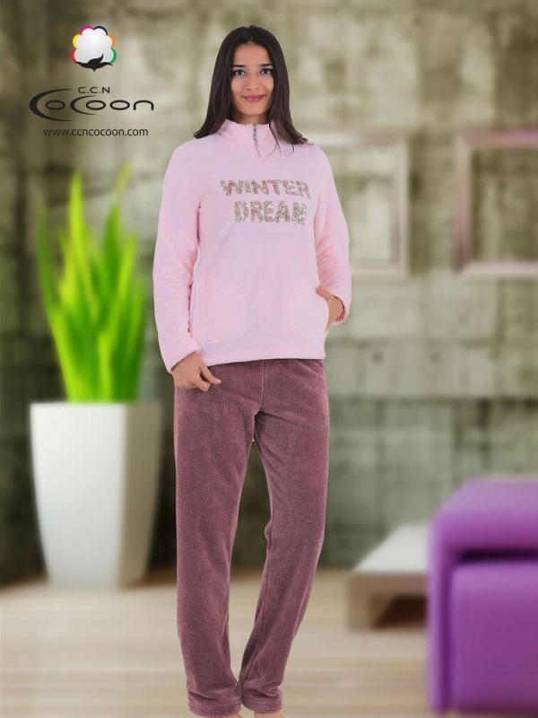 Пижама женская CCND61-5003 PEMBE