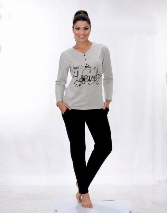Пижама женская Metin 5818