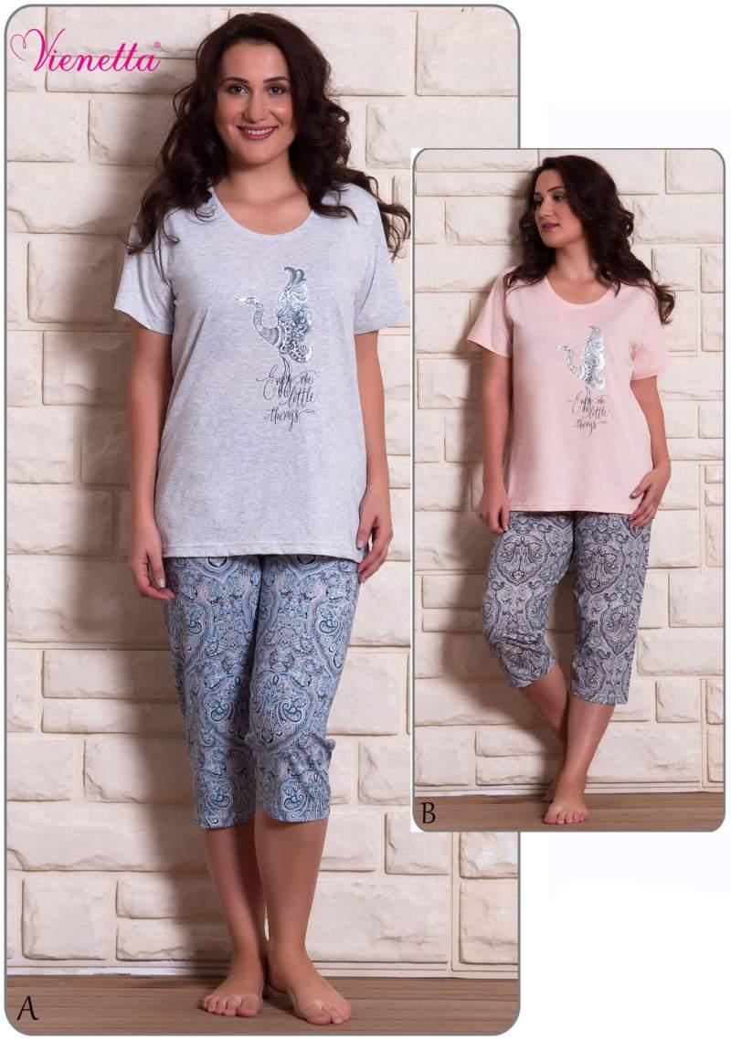 Пижама женская капри 6091260002