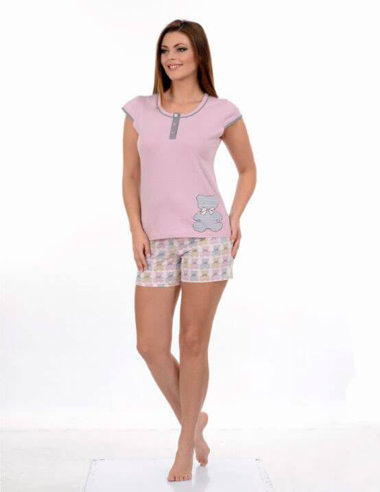 Пижама женская шорты Metin 8654