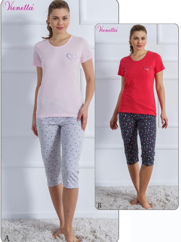 Пижама женская Капри 6091280375