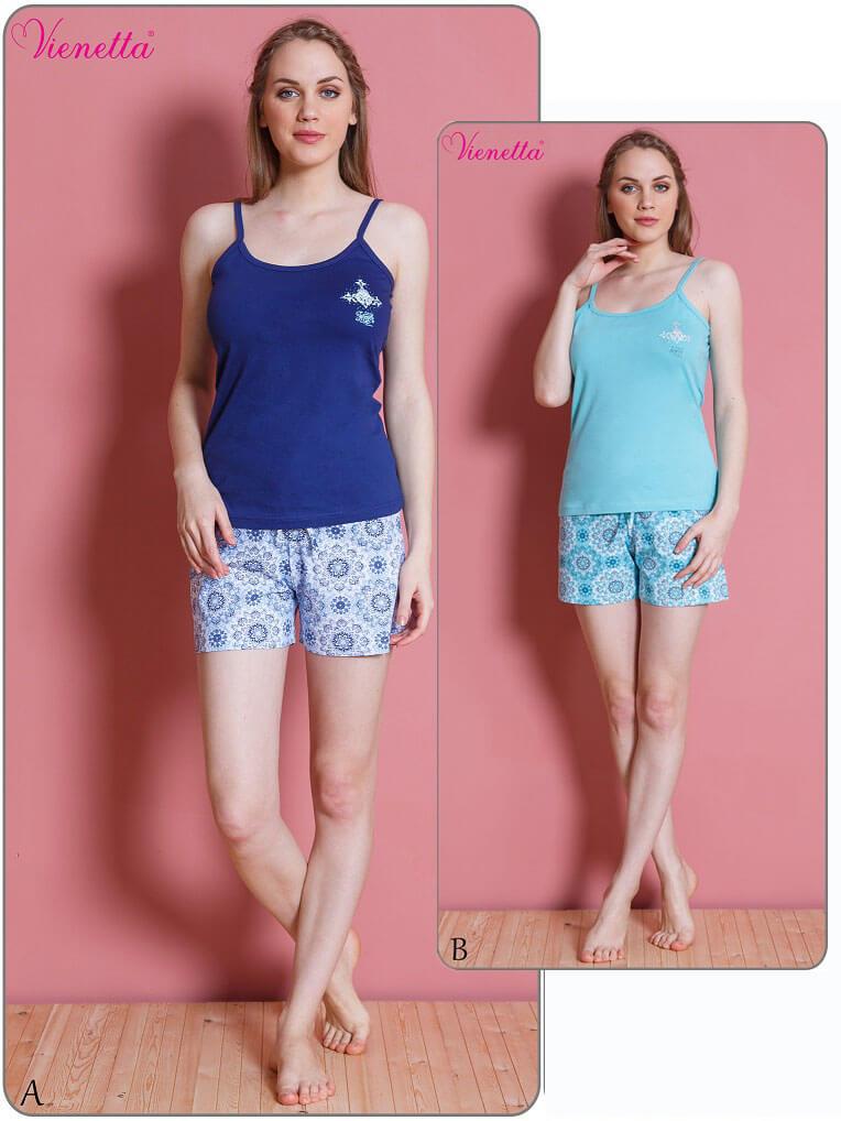 Пижама женская шорты 6101350083