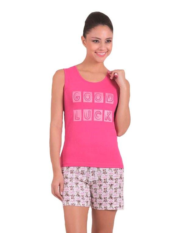 Пижама женская шорты SAB. H 62807