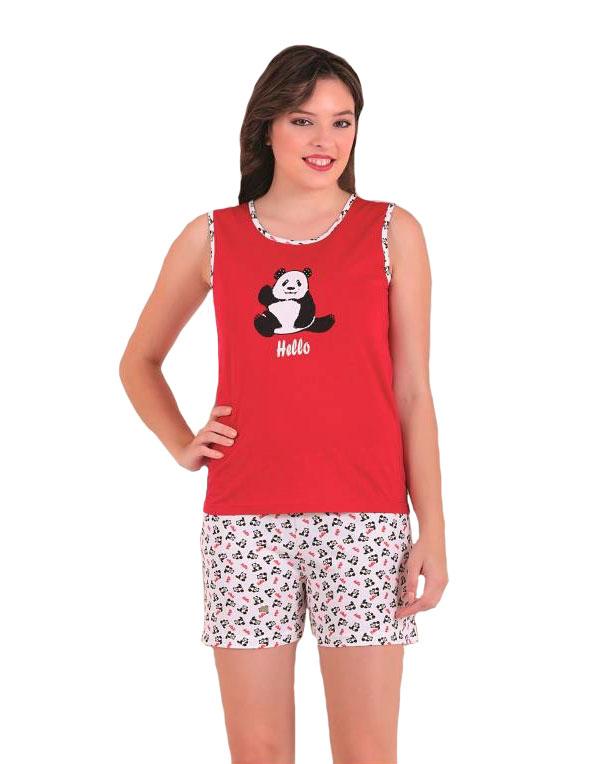 Пижама женская шорты SAB. H 62813