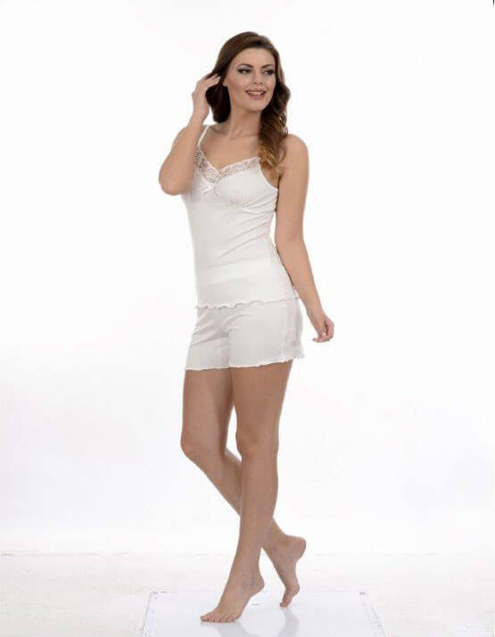 Пижама женская шорты Metin 8666