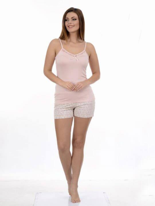 Пижама женская шорты Metin 8668