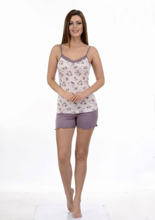 Пижама женская шорты Metin 8676