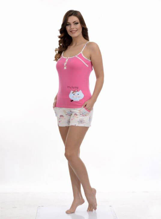 Пижама женская шорты Metin 8678