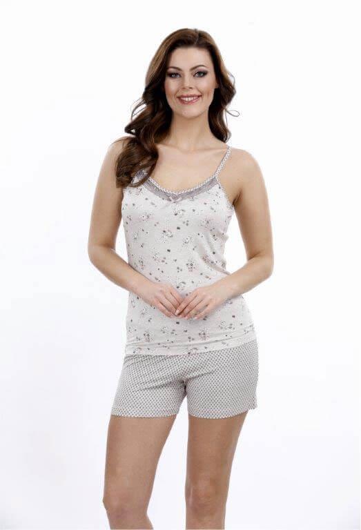 Пижама женская шорты Metin 8690