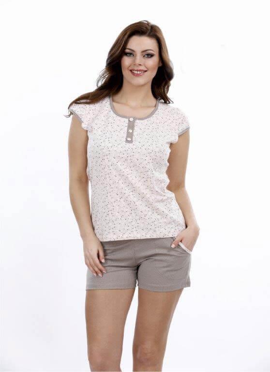 Пижама женская шорты Metin 8700