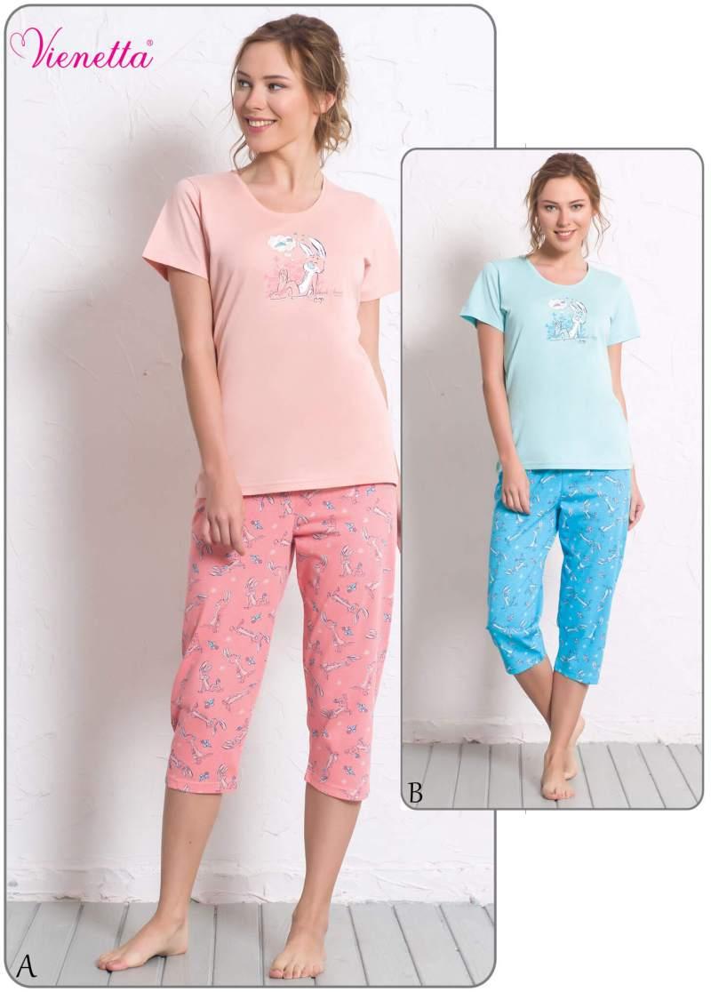 Пижама женская Капри 6080270318