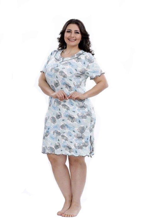 Ночная рубашка Metin 6131