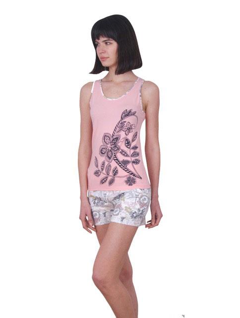 Пижама женская шорты Nicoletta 80697