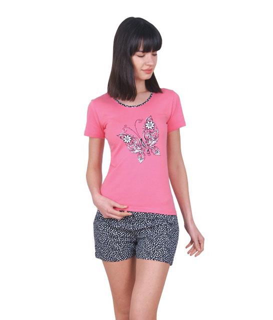 Пижама женская шорты Nicoletta 80704
