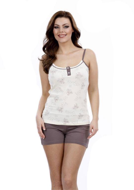 Пижама женская шорты Metin 8750