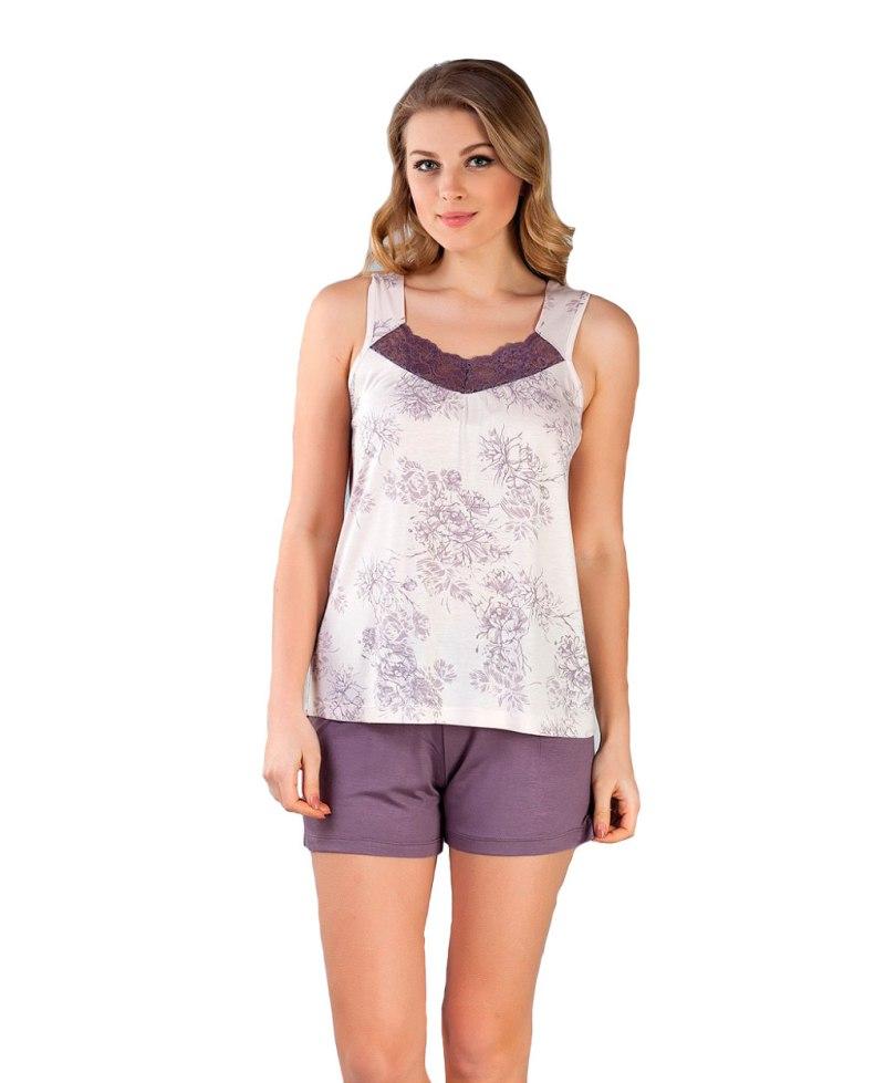 Пижама женская шорты Caroline 94273