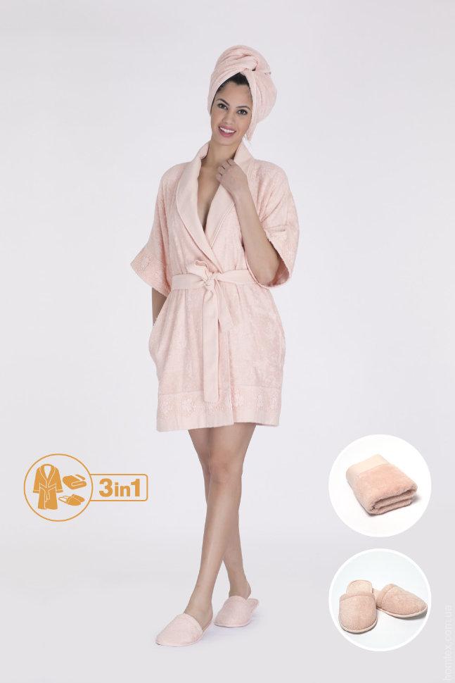 Набор женский Hays халат+полотенце 16577-В121