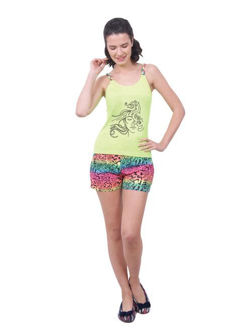 Пижама женская шорты Nicoletta 80655